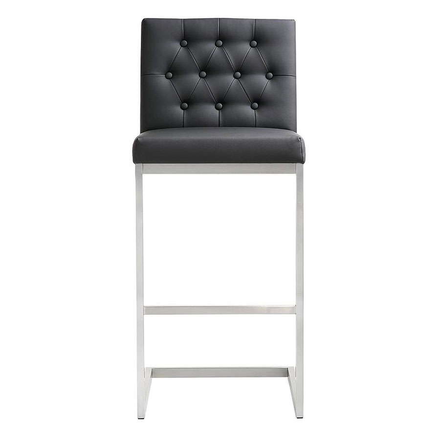 Call To Order Hungary Modern Black Bar Height Stool