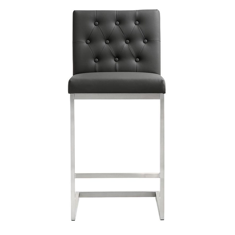 Hungary Modern Gray Counter Stool