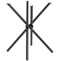 Hydra Modern Dining Table Base in Black