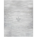 I Love Us Modern Canvas Gallery Wrap Wall Art