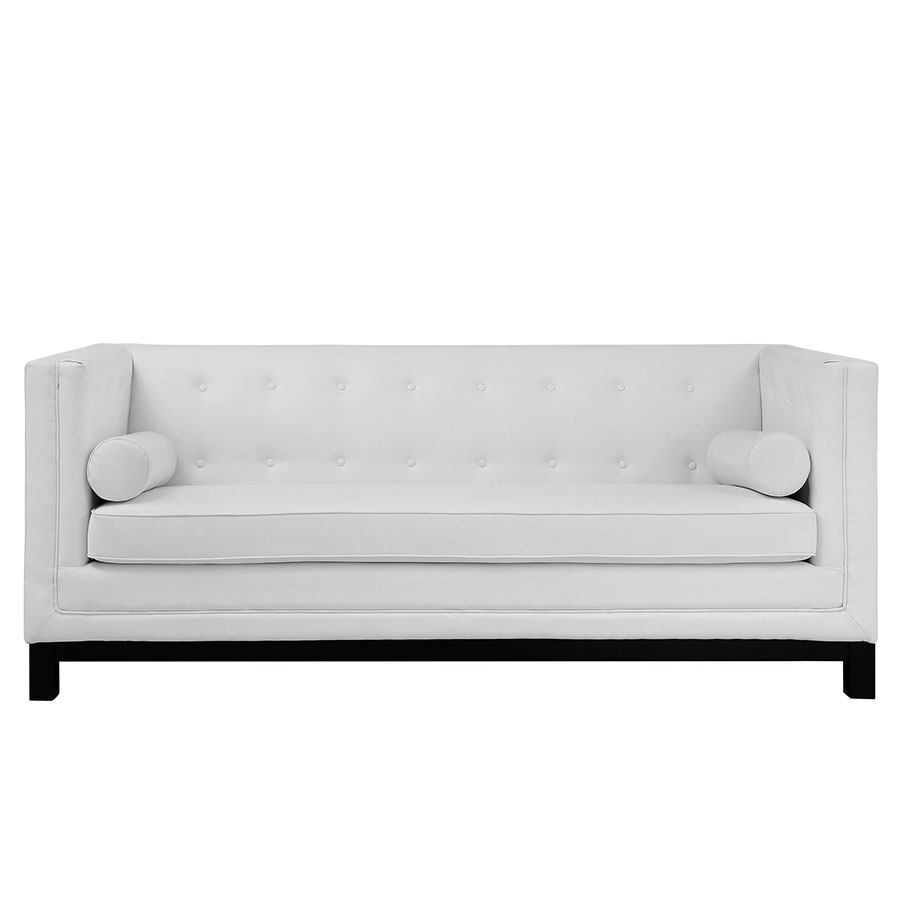 Ibiza White Modern Sofa · Ibiza White Modern Sofa Front