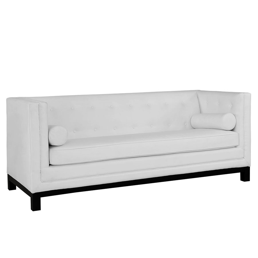 Modern Sofas Ibiza White Sofa Eurway Furniture ~ Modern Sofa White Leather