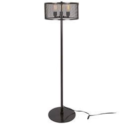 Illinois Modern Mesh Floor Lamp