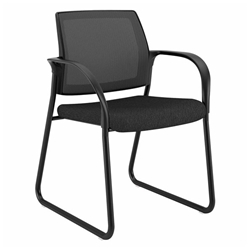 Impulse Modern Guest Chair in Black