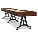 Industrial 156 in. Shuffleboard Table in Burnt Umber by District Eight