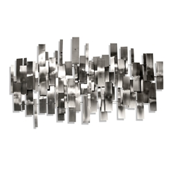 Innovate Modern Metal Wall Sculpture