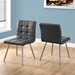 Iowa Gray Contemporary Dining Chairs