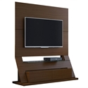 Ipswich Brown Modern Freestanding Theater Stand