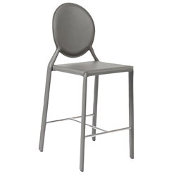 Isabella Modern Gray Counter Stool by Euro Style