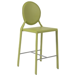 Isabella Modern Green Counter Stool