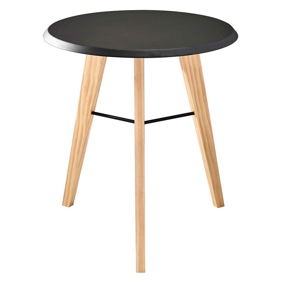 Jadon Black Modern End Table