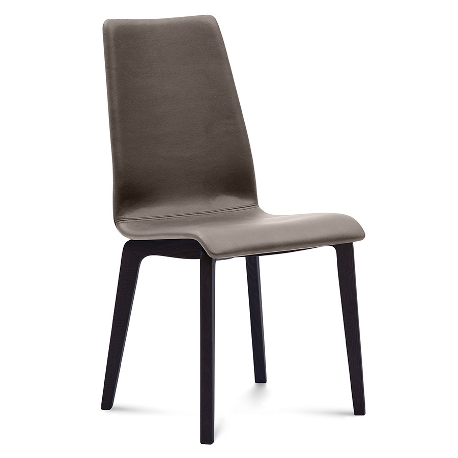 Jake Anthracite + Taupe Modern Dining Chair