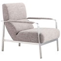 Jamal Wheat Modern Lounge Chair