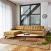 Gus Modern Jane 2 Bi Sectional Sofa In Stockholm Camel
