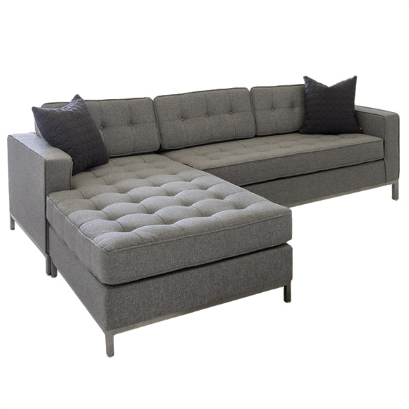 Gus Modern Jane LOFT BiSectional Totem Storm Eurway