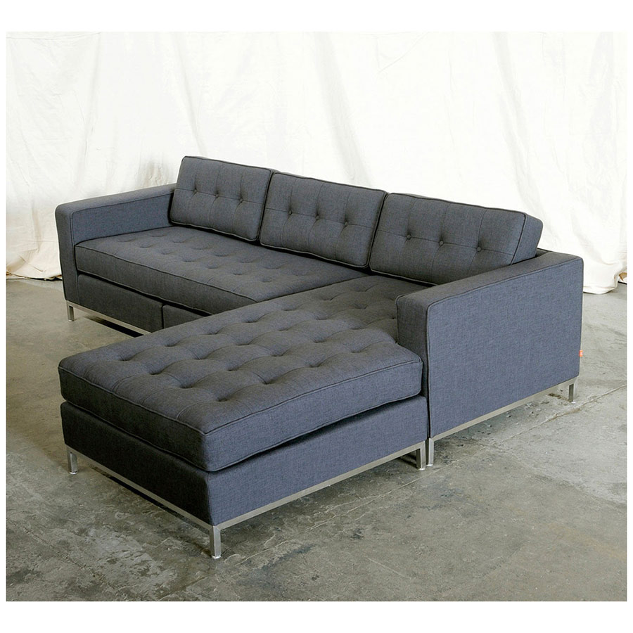 Jane Contemporary Bi Sectional By Gus Modern