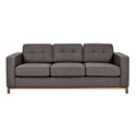 Jane Contemporary Walnut Base Sofa in Totem Storm by Gus* Modern
