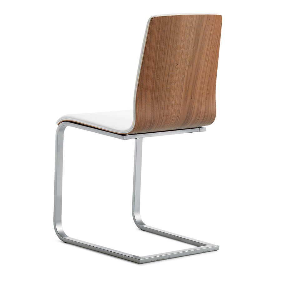 Modern dining chairs jasmine cww side chair eurway for White chrome dining chairs