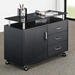 Jefferson Contemporary Mobile Storage Cabinet