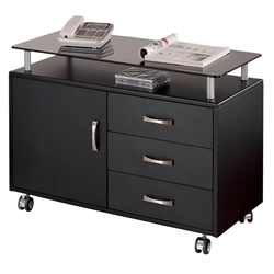 Jefferson Modern Mobile Storage Cabinet