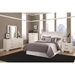 Jess Modern Bedroom Furniture Collection in White