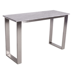 Joseph Modern White Marble Console Table