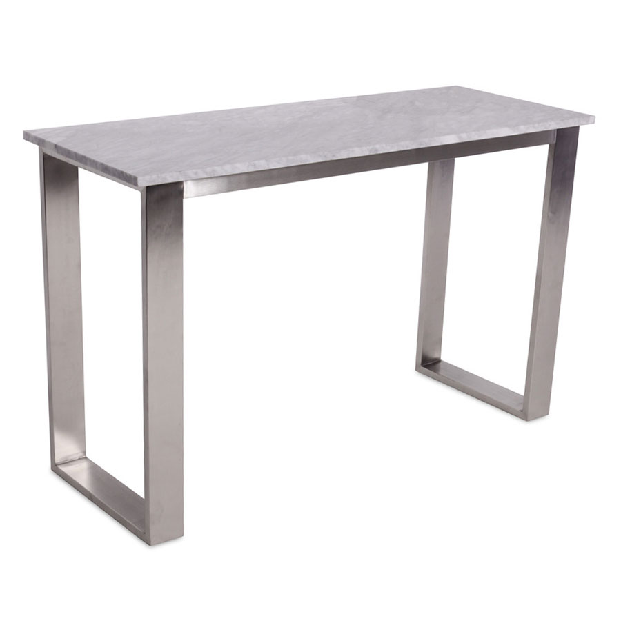 Call To Order · Joseph Modern White Marble Console Table