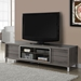 Josh Modern Dark Taupe TV Stand w/ Storage Drawers