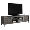 Josh Contemporary Dark Taupe TV Stand w/ Storage Drawers