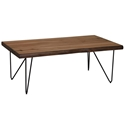 Juneau Rustic Mid-Century Modern Coffee Table