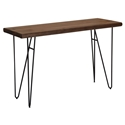 Juneau Rustic Mid-Century Modern Console Table
