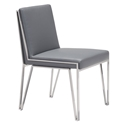 Kaden Gray Modern Dining Chair