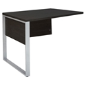 Kalmar Modern 32 Inch Return Desk in Espresso