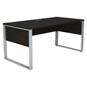 Kalmar Modern Desk - Espresso Laminate Finish