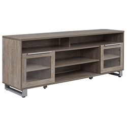 Kalmar Modern 71 inch Gray Washed TV Cabinet by Unique Furniture