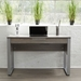 Kalmar Contemporary Home Office Desk in Gray