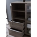 Kalmar Storage Cabinet in Gray Washed - Open Drawer Detail