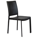 Kamusi Modern Black Side Chair