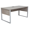 Karlstad Modern Desk - Gray Laminate Finish