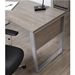 Karlstad Modern Desk - Leg and Side Detail