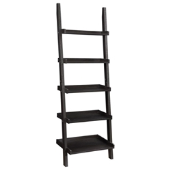 Kelly Ladder Shelf in Cappuccino