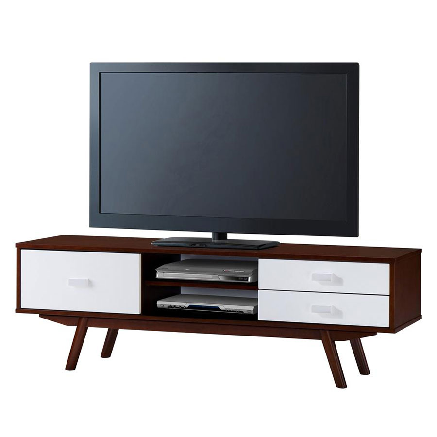 Modern tv stands kenova tv stand eurway modern for Table tv moderne