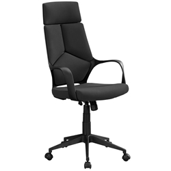Killian Modern Black High Back Office Chair