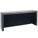 Kobe Concrete Contemporary Sideboard by TemaHome