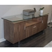 Kohler Contemporary Credenza - Walnut Finish