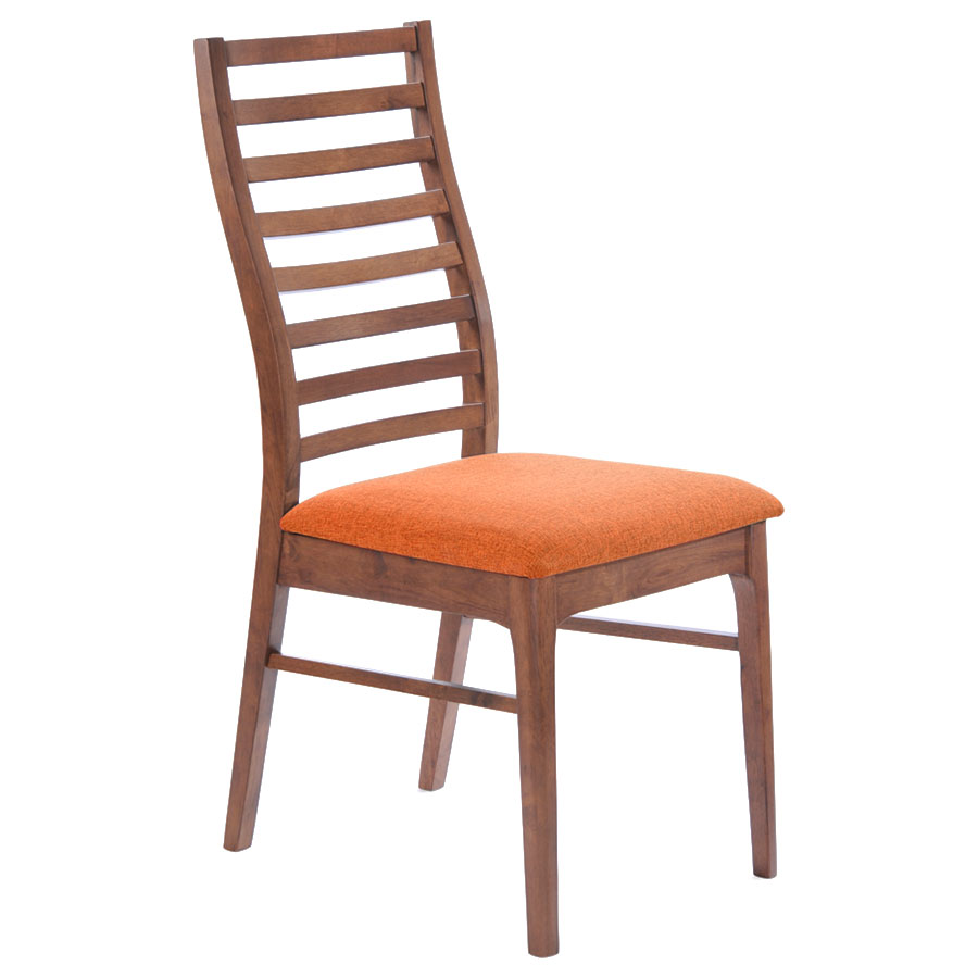 Lacrosse Modern Orange Dining Chair Eurway Furniture