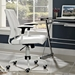 Ladera Contemporary White Office Chair