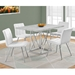 Lagos Contemporary Cement-Look Dining Table