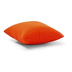 Laguna 16 Inch Outdoor Throw Pillow in Orange