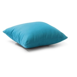 Laguna 16 Inch Outdoor Throw Pillow in Sky Blue